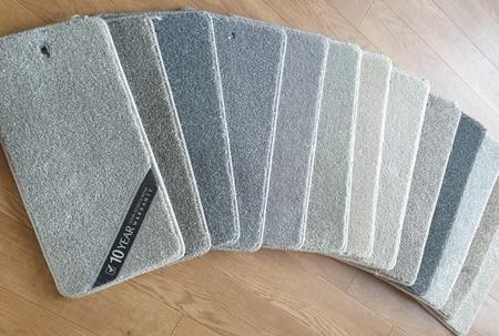 Mobile Carpet Samples in Harlow