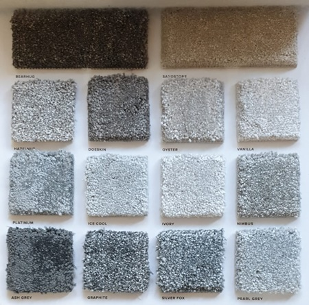 Carpet samples brought to your home